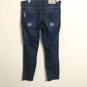 IRO Jeans Jeans - IRO JEANS Kalou Straight Legs Distressed Jean 26